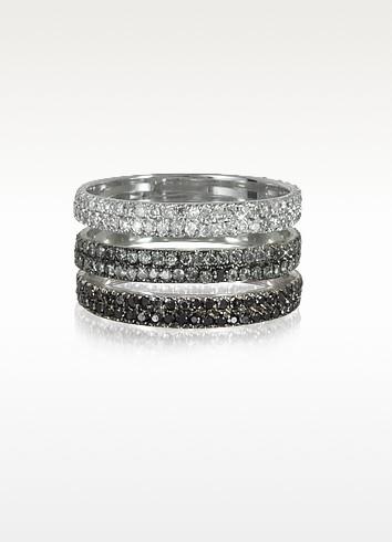 Пръстен от бяло злато и диаманти Bernard Delettrez 11 427 лв.