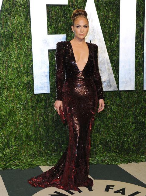 """2012 На партито след наградите """"Оскар"""" на Vanity Fair"""