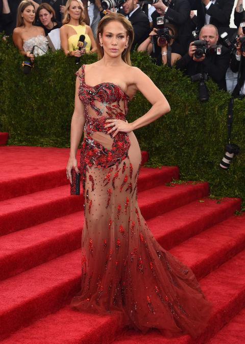 2015 По червения килим на Met Gala