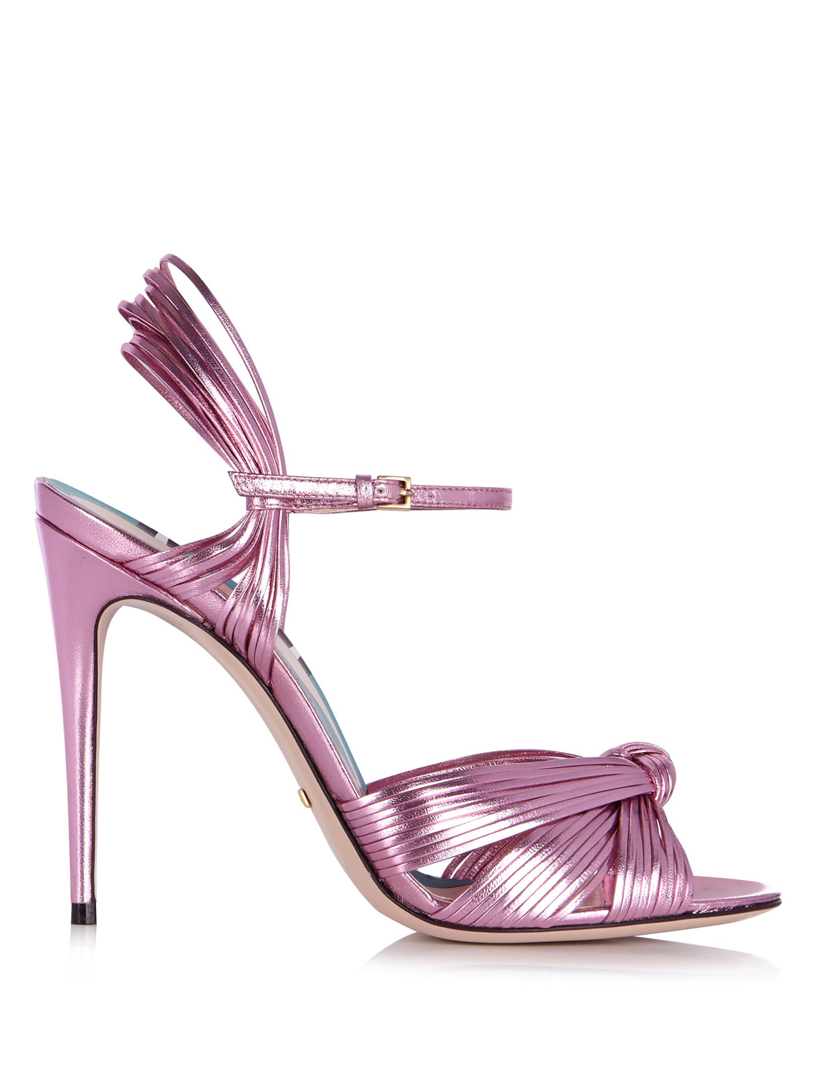Розови сандали Gucci 1270 лв.