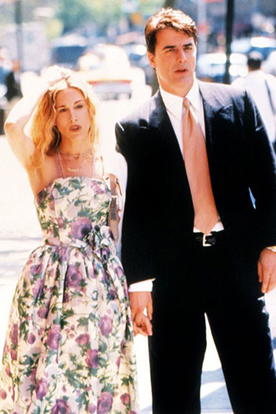 И тази рокля, и тази оранжева вратовръзка...