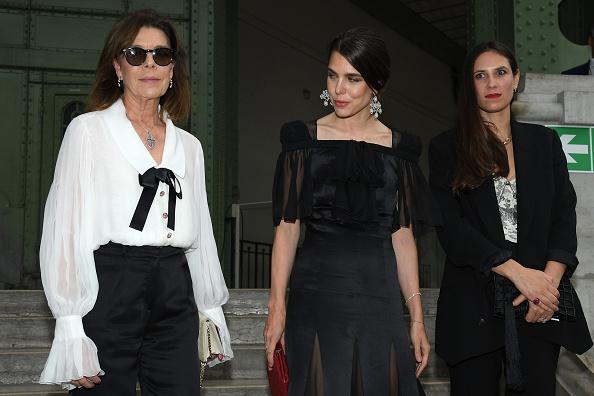 принцесата на Монако Каролин и Шарлот Казираги