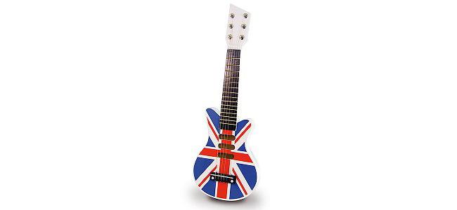 Детска китара. За всички, които си мечтаят да станат рок звезди. 44 лв. toy.store.bg