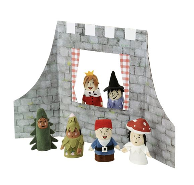 Малък куклен театър у дома. За всички малки актьори и актриси. 10 лв. ikea.bg