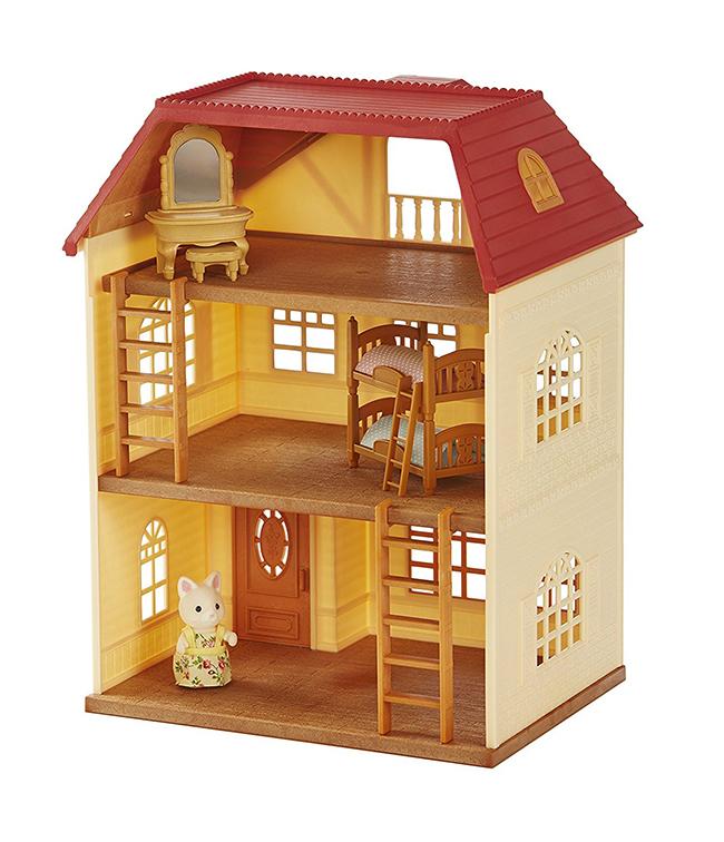 Дървена къща за кукли. Защото всяко момиченце си играе с кукли. 90лв. amazon.co.uk