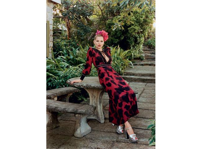 Кейт Мос, Vogue, 2015
