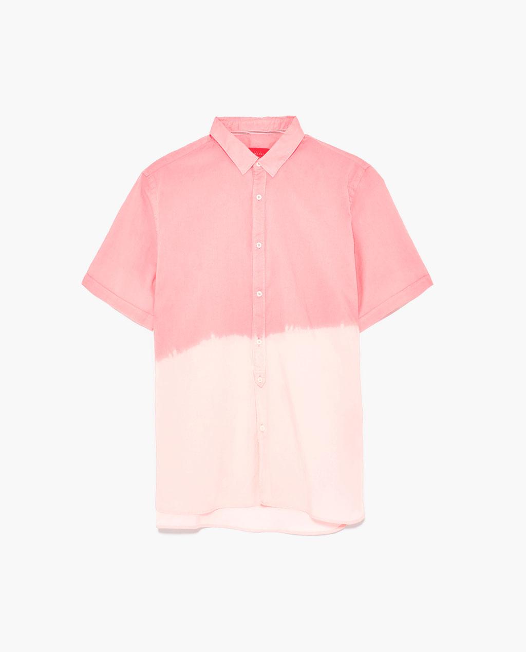 Боядисана риза ZARA; 29.99лв.