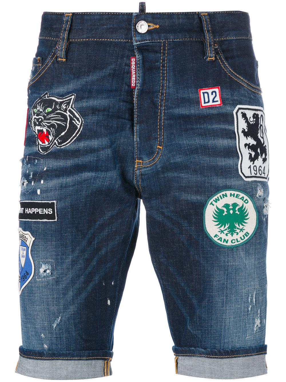 Къси дънкови панталони DSQUARED2; 706.77лв