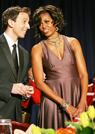 2011: Във вечерна рокля на Halston.