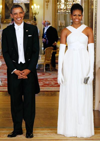 2011: В бяло съвършенство дело на Tom Ford.