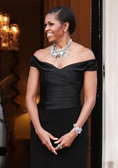 2011: Във вечерен модел на Ralph Lauren.