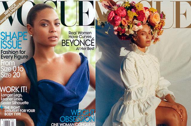 Бионсе Първа корица: април 2009 г.  Последна корица: септември 2018.