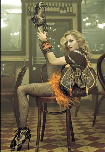 Мадона за колекцията пролет-лято 2009
