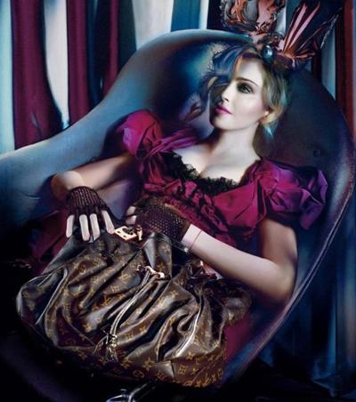 Мадона за колекцията есен 2009