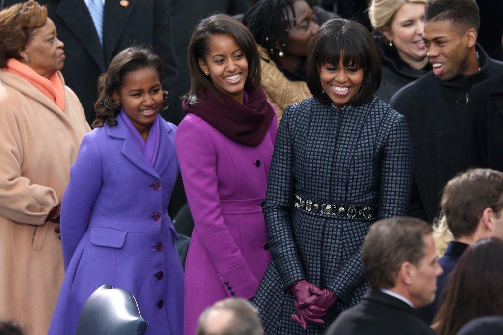 Момичетата на Обама са безупречни в деня на встъпването му в длъжност за втори път.