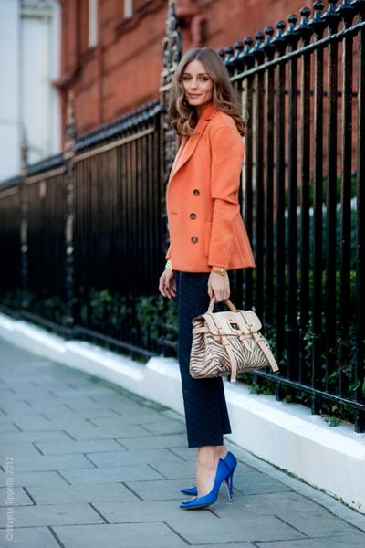 На Оливия Палермо това чудно сако стои така, сякаш цветът е създаден за нея. Waynetippetts