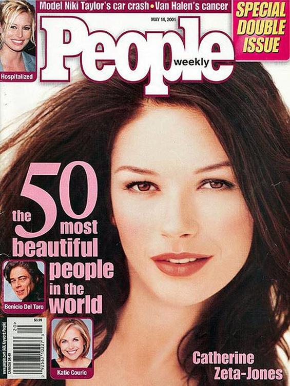 2001: Катрин Зита–Джоунс