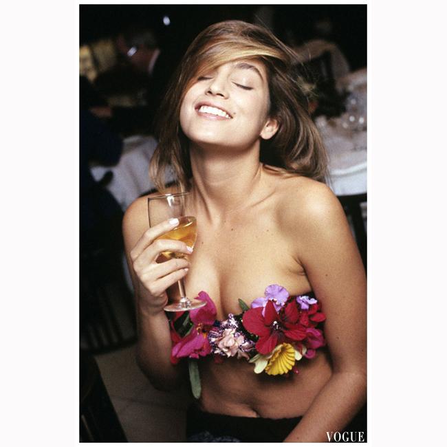Март, 1989 г. За Vogue, отново пред Уейн Мейзър.