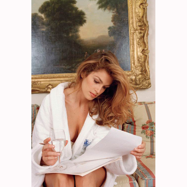 Октомври, 1995 г., Париж Снимката отново е на Ани Лейбовиц.
