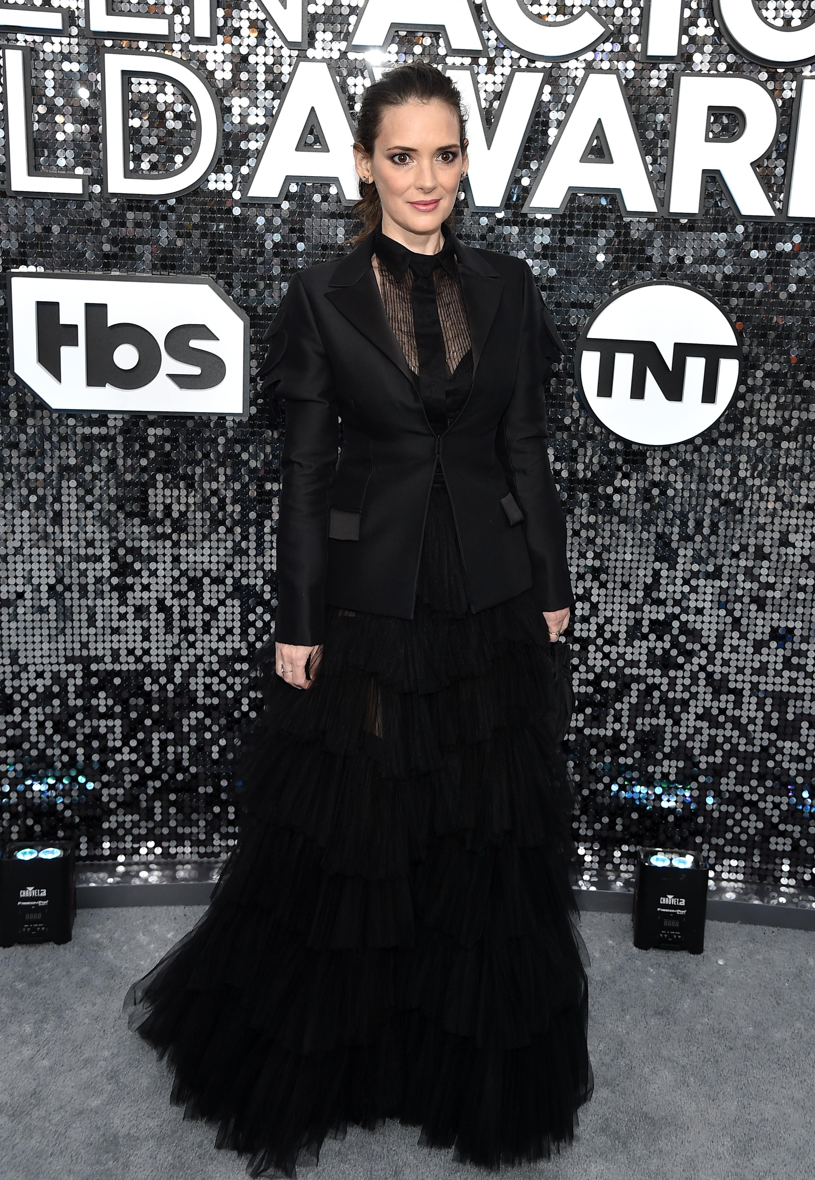 Уинона Райдер в Dior Couture
