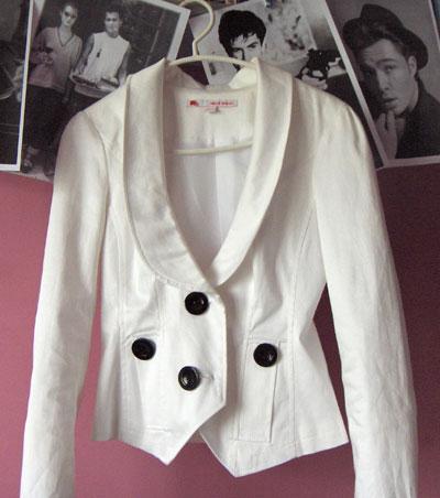 Сакото, без което нощем не излизам. Купих си го миналта година от Tally Weijl намалено за 20 лв.