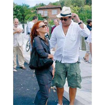 Радина Червенова и Коко КаменаровЕлегантно излъчване, дълга любов.