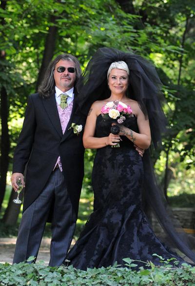 Кремена и Магърдич Халваджиян Отскоро повторно женени, просто сладкиши.