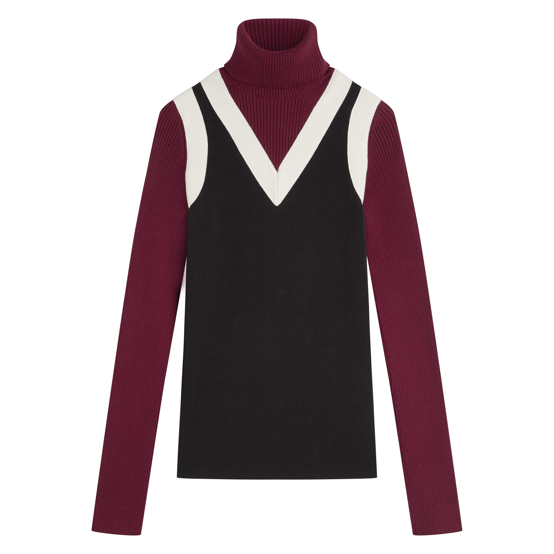 Поло 330лв. Практичният дизайн на поло пуловера го прави незаменим в есенно-зимните месеци.