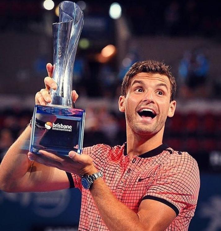 Григор Димитров спечели първата си титла за годината! Пожелаваме ти още много през 2017-та, Гришо!