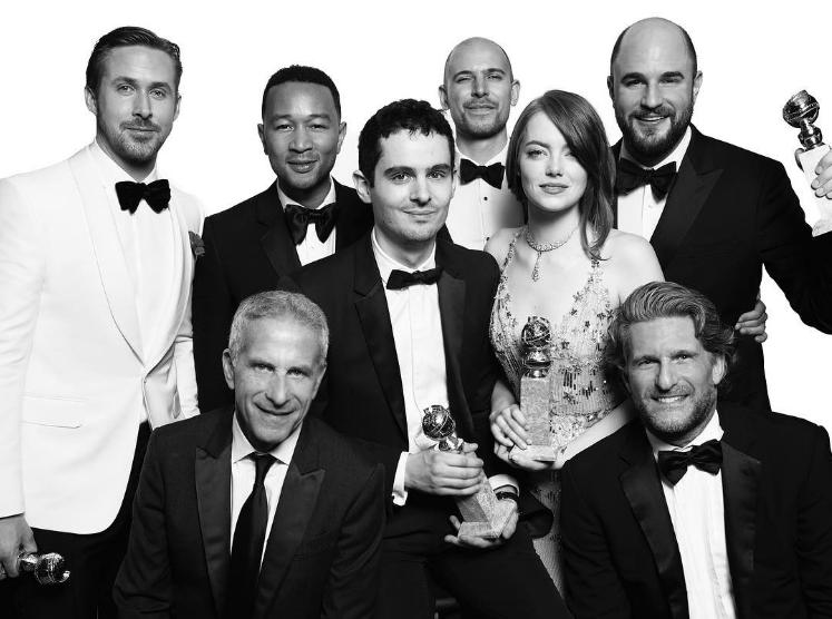 Екипът на големия победител - La La Land - заснет от фотографското дуоМерт Алас и Маркус Пиго