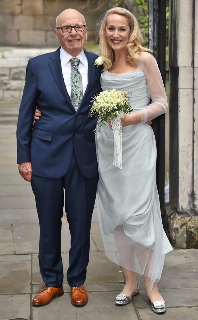 Рупърт Мърдок и Джери Хол 84-годишният ТВ магнат и 59-годишният супер модел, и бивша половинка на Мик Джагър, вдигнаха очарователна сватба в тесен кръг в началото на март месец.