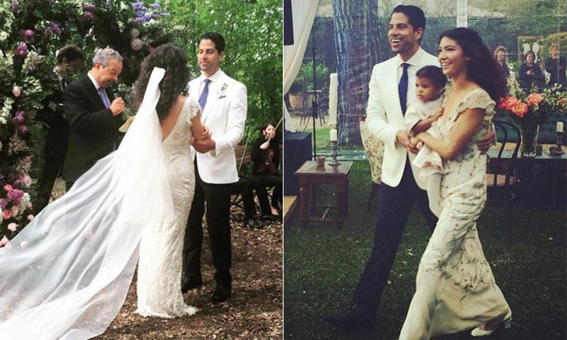 Адам Родригес и Грейс Гейл Сексапилният мачо от Magic Mike XXL се ожени за дългогодишната си любима Грейс на романтична церемония в началото на май месец в Тоскана, Италия. Двойката е заедно от години и вече възпитава 2-годишната си дъщеричка Франки.
