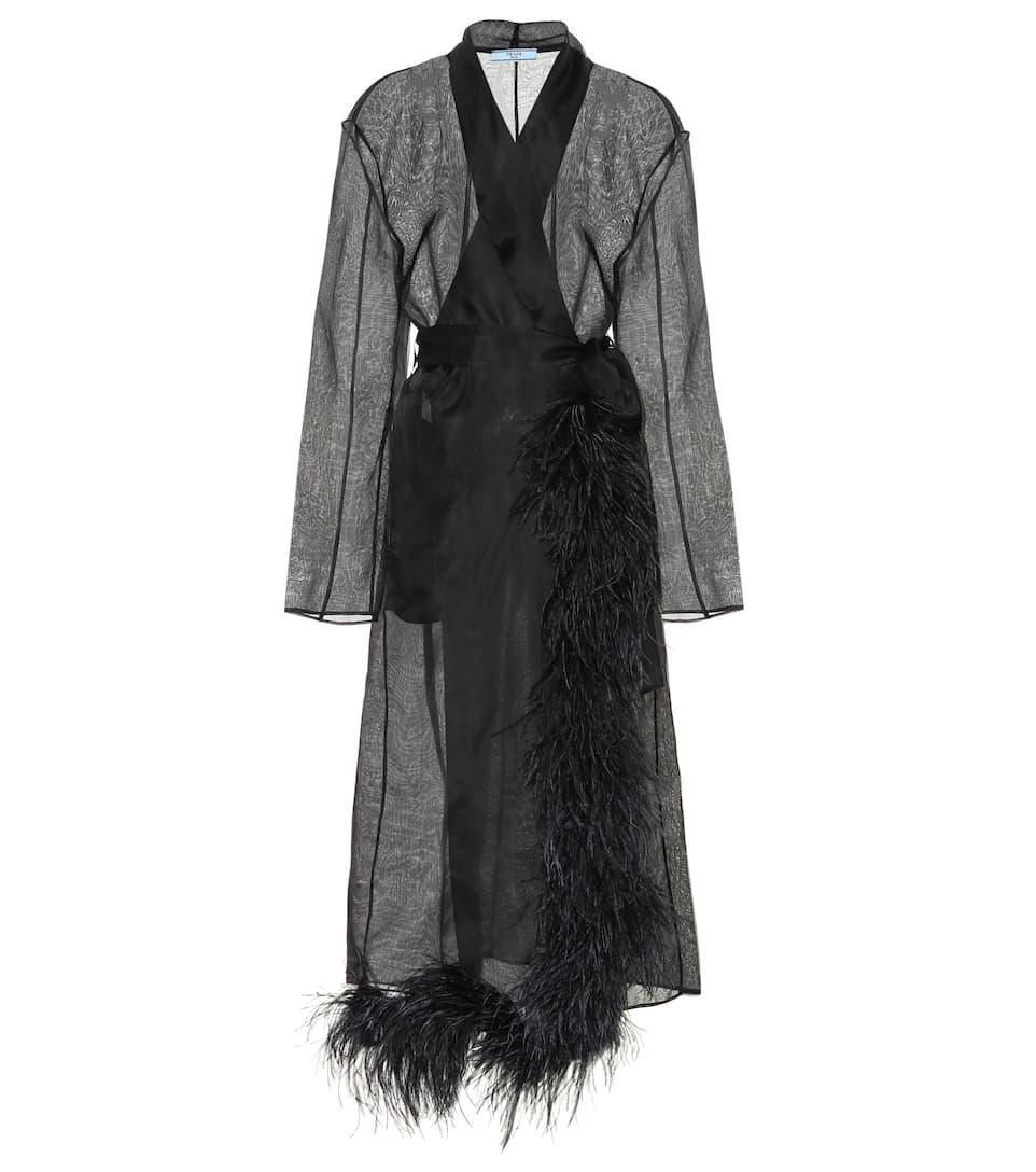 Палто от органза Prada 3200лв.