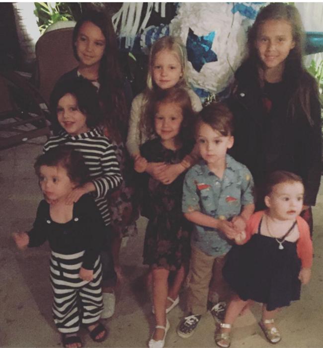 Джесика Алба - децата на родата