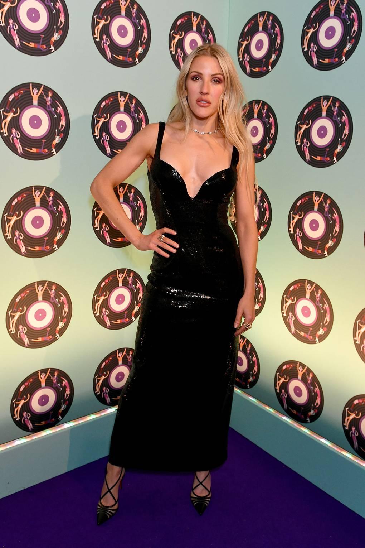 Ели Голдинг  В рокля Galvan на афтърпартито след Universal Music BRIT наградите.