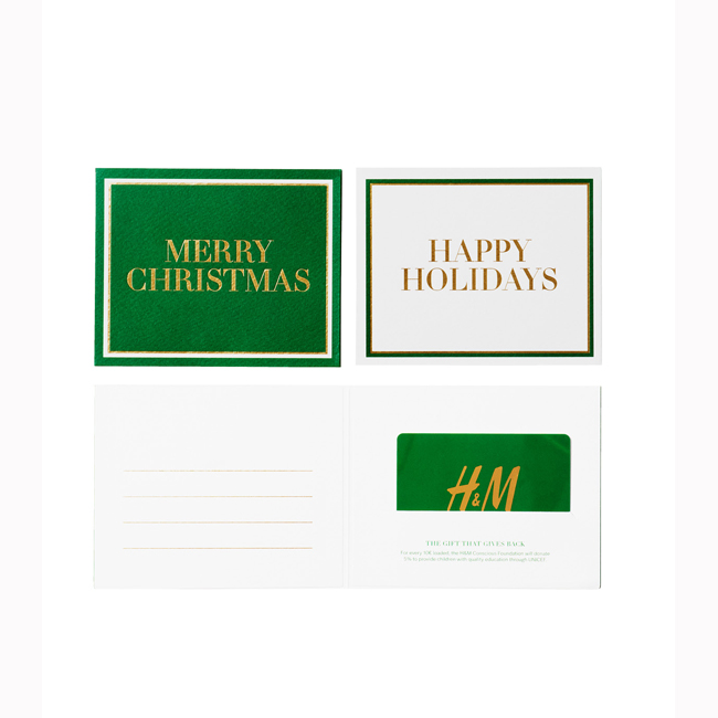 Gift карта H&M  hm.com