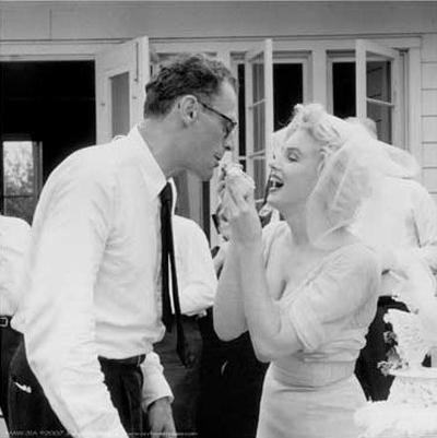 Мерилин Монро и Артър Милър, 1956 година.