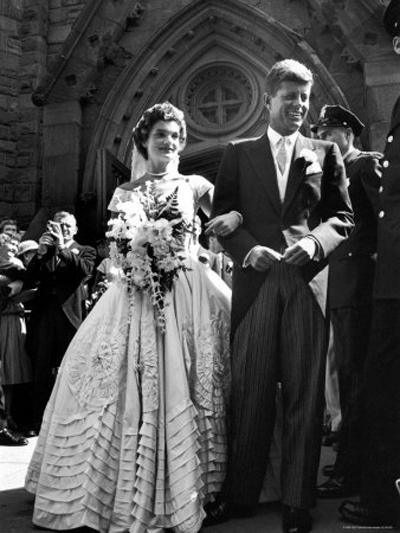 Джаки и Джон Кенеди, 1953 година
