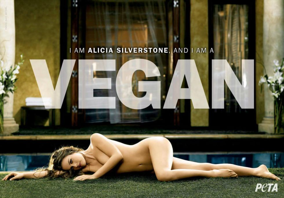 Алиша Силвърстоун За PETA през 2007-ма година