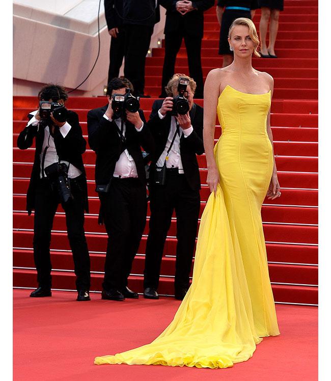 Чарлийз Tерон в Dior