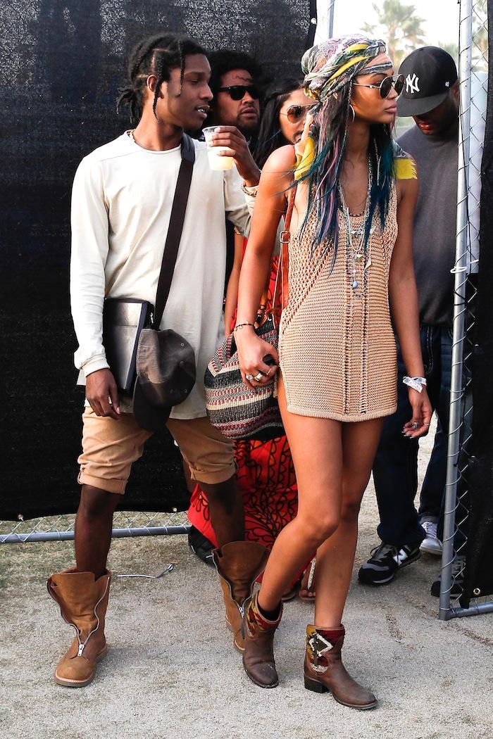 A$AP Rocky & Шанел Иман