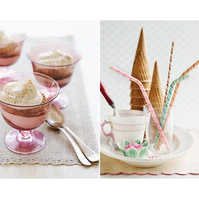 Да започнеш деняси със сладолед, това определеное празнично. А да започнеш така неделята си - това определено е мотивиращ старт... на края на седмицата.Decor8