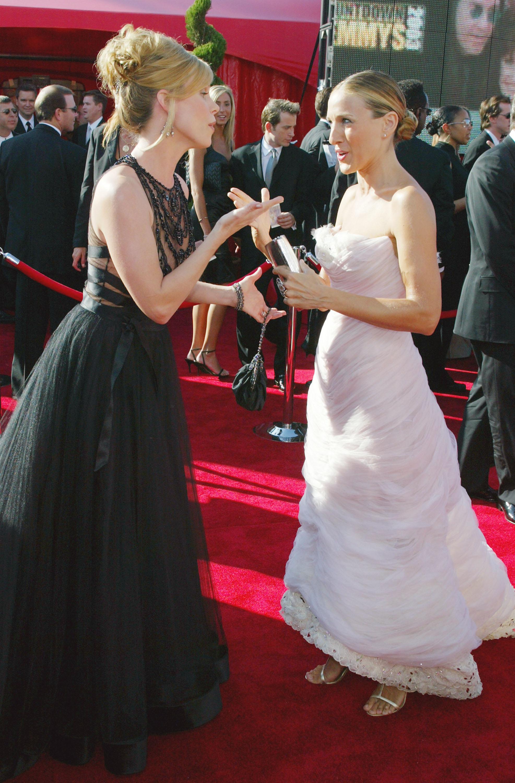 Шерил Хайнс и Сара Джесика Паркър, 2003