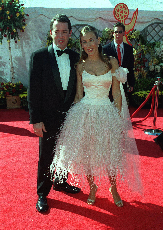 Сара Джесика Паркър и Матю Бродерик, 2000