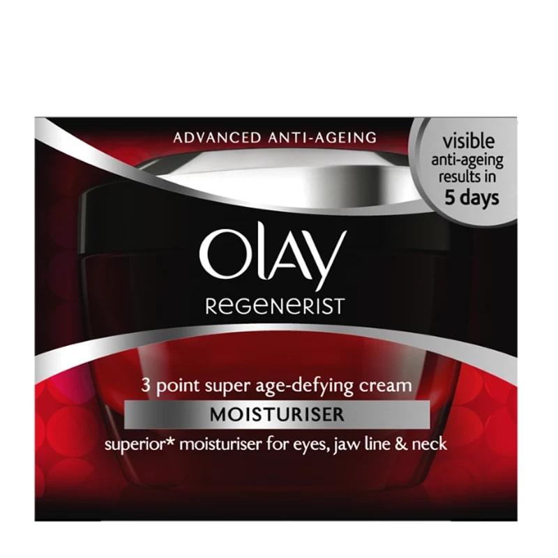 Olay Regenerist 3 Point Treatment Cream 67 лв. Много добър пример от достъпния сектор, който се грижи за стегнатия вид на кожата, нейната хидратация и здравословен вид.