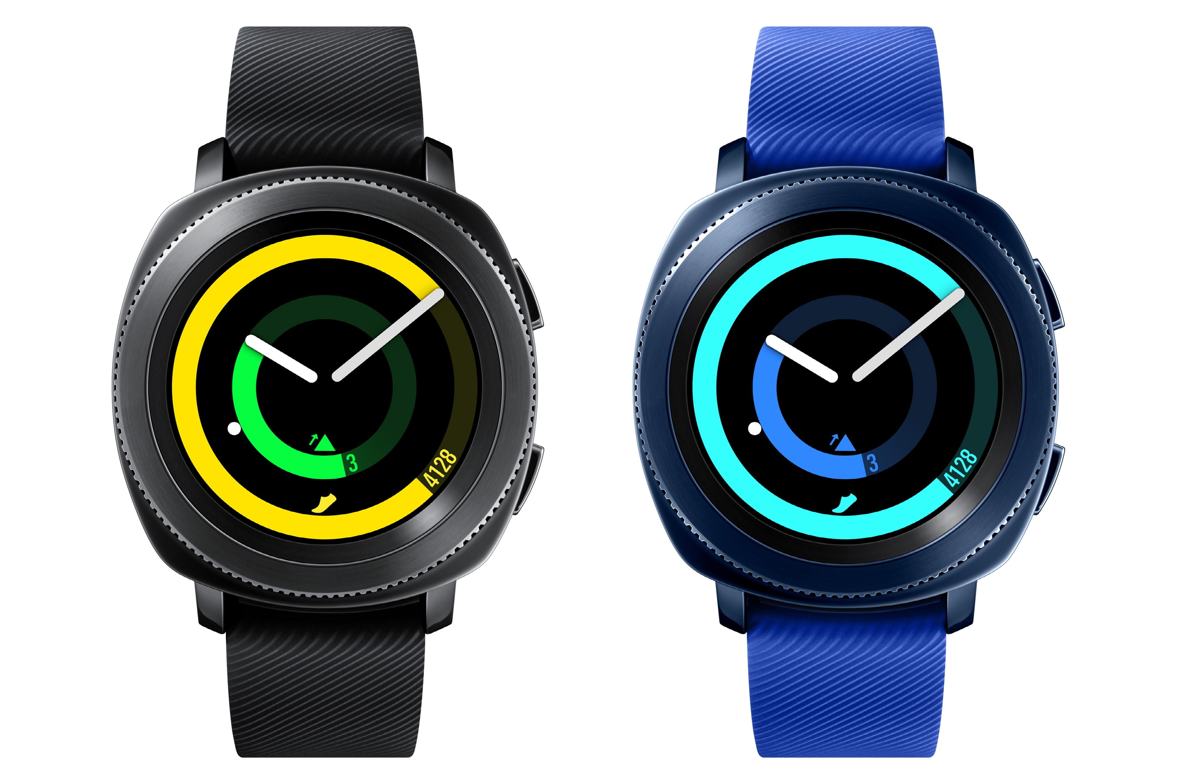 Samsung Gear Sport смарт часовник Перфектният подарък, с който със сигурност ще зарадва половинката. Смарт часовникът е изключително стилен, практичен и с минималистична кръгла рамка, която го превръща в идеален аксесоар за модерния мъж, независимо дали е във фитнеса или навън. Освен че е водоустойчив, той има вграден GPS, подобрен потребителски интерфейс и редица спортни приложения, с които фитнес начинанията и ежедневните активности стават още по-ефективни.