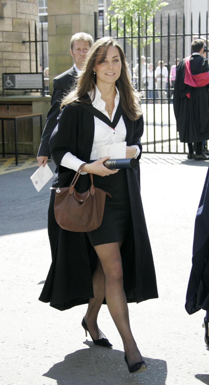 Кейт Мидълтън през 2005 година