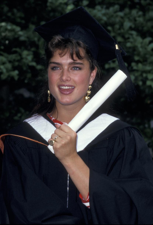 Брук Шийлдс през 1987 година