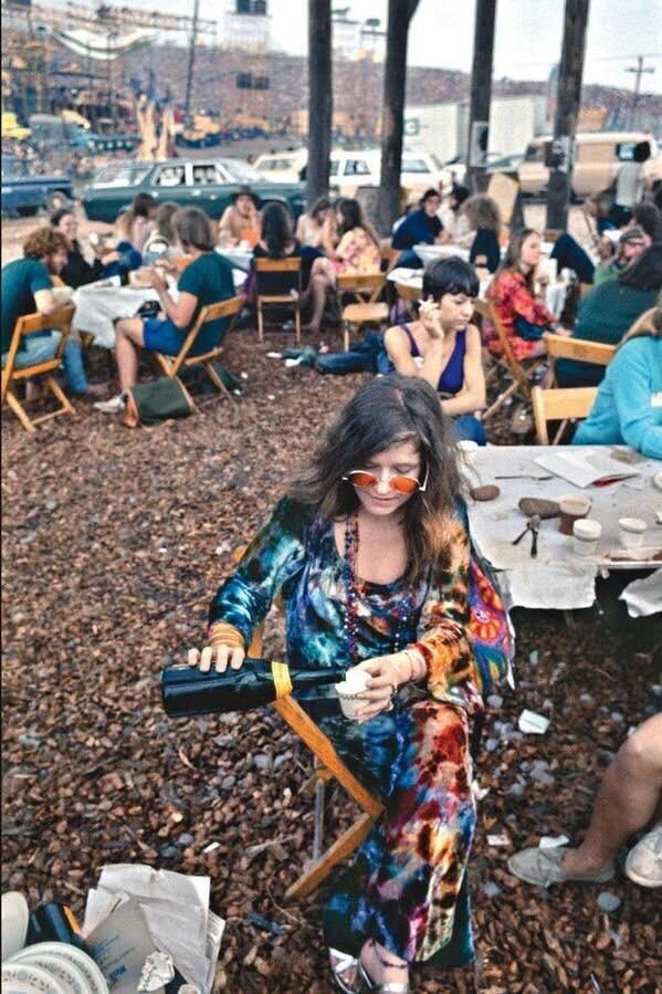 Джанис Джоплин на Woodstock, 1969 г.