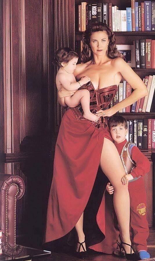 """""""Wonder Woman"""", Линда Картър 1990 г."""